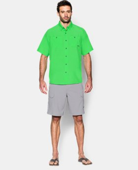 Men's UA Chesapeake Short Sleeve Shirt  3 Colors $33.74