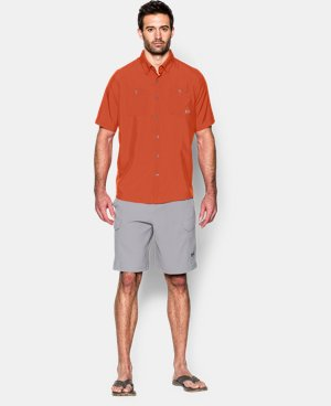 Men's UA Chesapeake Short Sleeve Shirt LIMITED TIME: FREE U.S. SHIPPING 1 Color $25.31 to $44.99