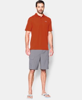 Men's UA Fish Hook Polo LIMITED TIME: FREE SHIPPING 4 Colors $64.99