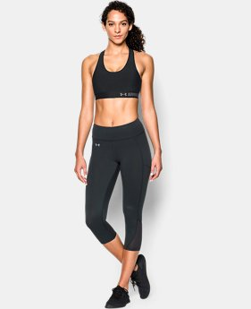 Women's UA HeatGear® Armour Mid w/Cups LIMITED TIME: FREE SHIPPING 1 Color $39.99