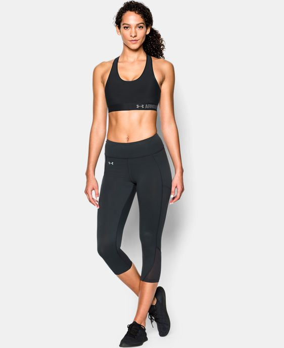Women's UA HeatGear® Armour Mid w/Cups   $39.99