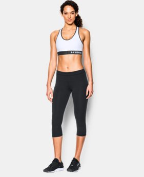 New to Outlet Women's UA HeatGear® Armour Mid w/Cups   $26.99