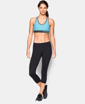 New to Outlet Women's UA HeatGear® Armour Mid w/Cups  1 Color $26.99