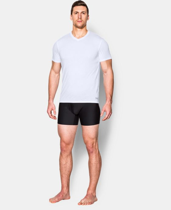 New Arrival  Men's UA Core V-Neck Undershirt  1 Color $25.99
