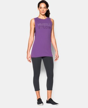 New to Outlet Women's UA Studio Roga Muscle Tank  1 Color $29.99
