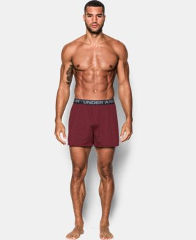 Men's UA Original Series Twist Boxer Shorts  1 Color $17.99 to $18.99