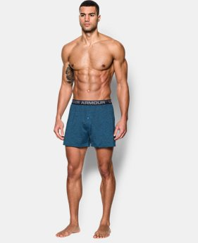 "New Arrival  Men's UA Original Series Twist 6"" Boxer Shorts LIMITED TIME: FREE SHIPPING 1 Color $29.99"