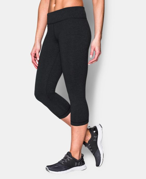 New to Outlet Women's UA Mirror Capri  1 Color $33.74