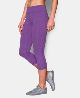 New to Outlet Women's UA Mirror Capri  1 Color $44.99