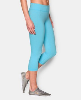 Women's UA Mirror Capri LIMITED TIME: FREE SHIPPING 1 Color $52.99