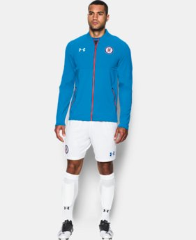Men's Cruz Azul 16/17 Stadium Jacket  1 Color $68.24