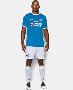 Men's Cruz Azul 16/17 Home Replica Jersey LIMITED TIME: FREE U.S. SHIPPING 1 Color $80