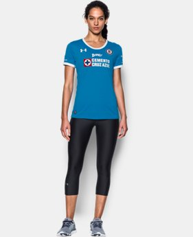 New to Outlet Women's Cruz Azul Third Replica Home Jersey  1 Color $48.99