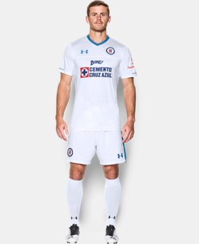 Men's Cruz Azul 16/17 Away Replica Jersey  1 Color $40