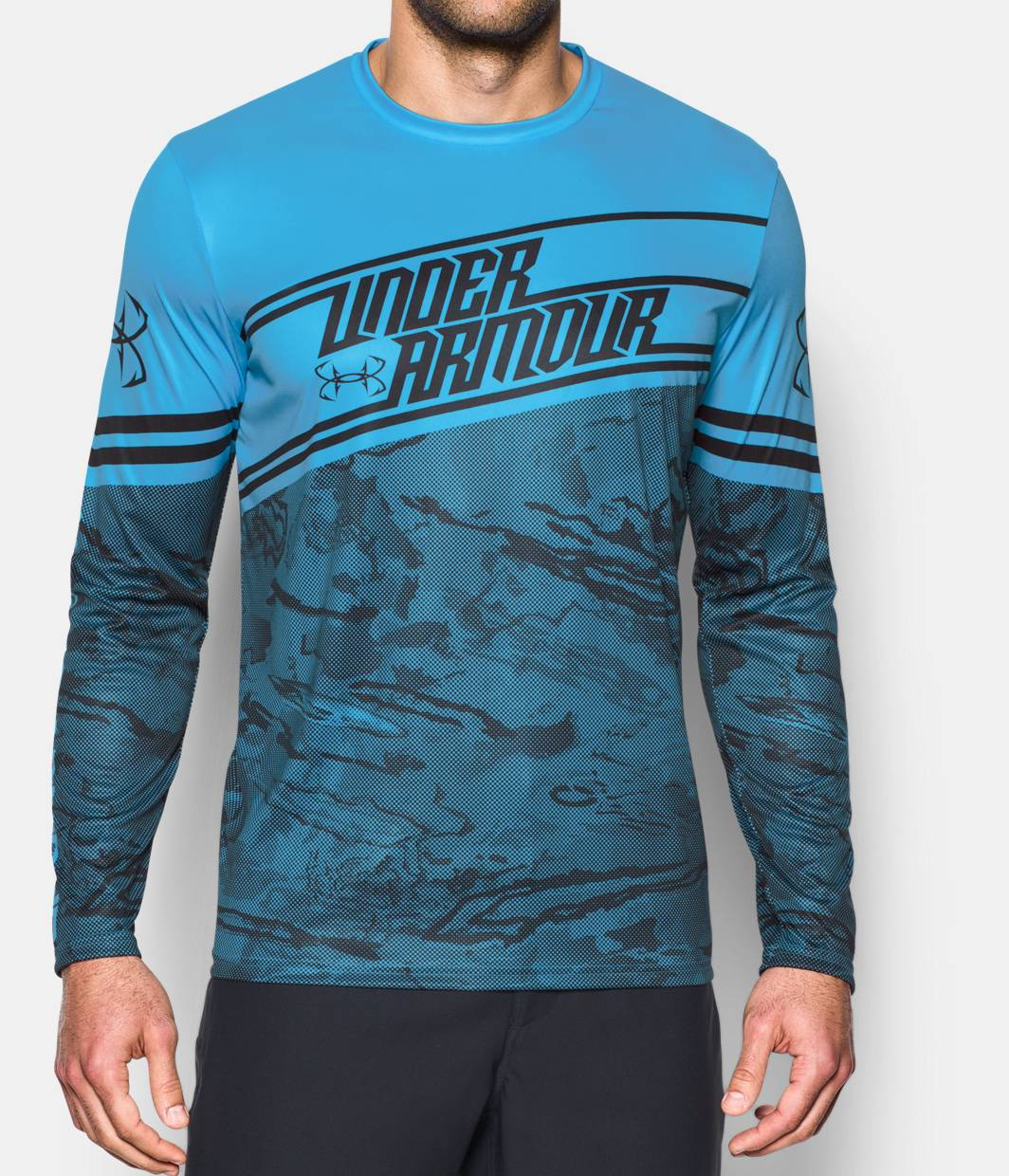 Men 39 s ua fishing jersey under armour us for Under armour fishing shirts clearance