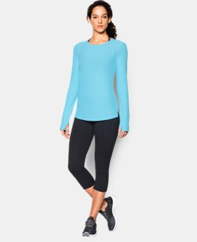 Women's UA CoolSwitch Run Long Sleeve LIMITED TIME: FREE SHIPPING 1 Color $37.99