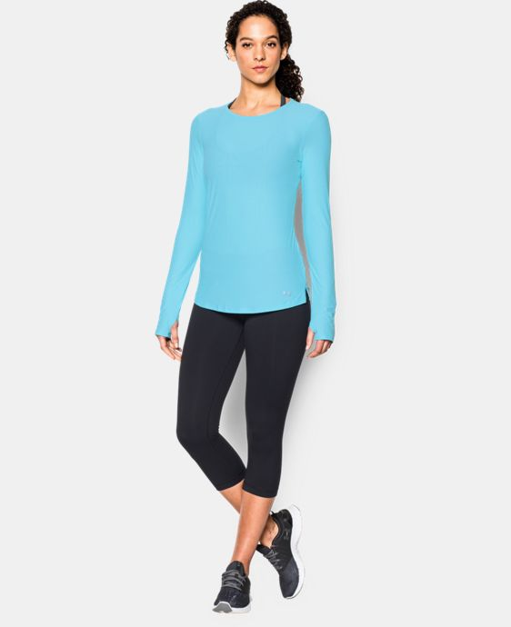 Women's UA CoolSwitch Run Long Sleeve  1 Color $49.99