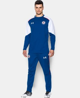 New to Outlet Men's Cruz Azul UA Storm Midlayer  1 Color $39.99