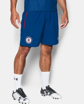 Men's Cruz Azul 16/17 Training Shorts LIMITED TIME: FREE SHIPPING 1 Color $40
