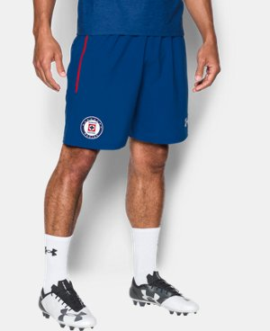 Men's Cruz Azul 16/17 Training Shorts LIMITED TIME: FREE U.S. SHIPPING 1 Color $40