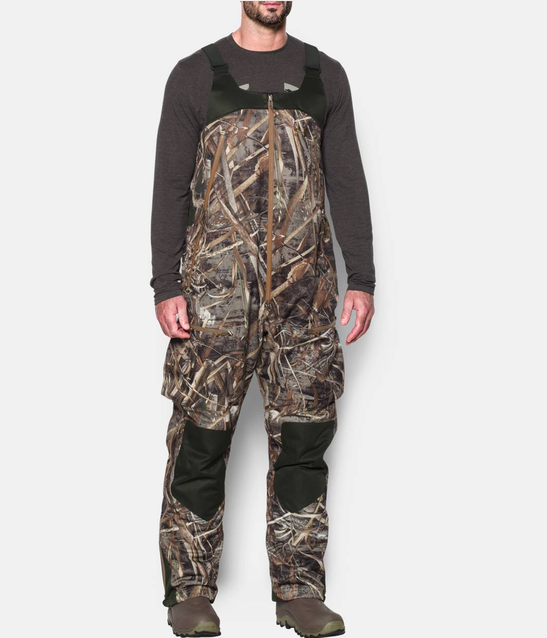 Men S Ua Storm Skysweeper Insulated Bib Under Armour Us