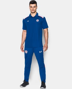 Men's Cruz Azul16/17 Team Polo LIMITED TIME: FREE SHIPPING 1 Color $55
