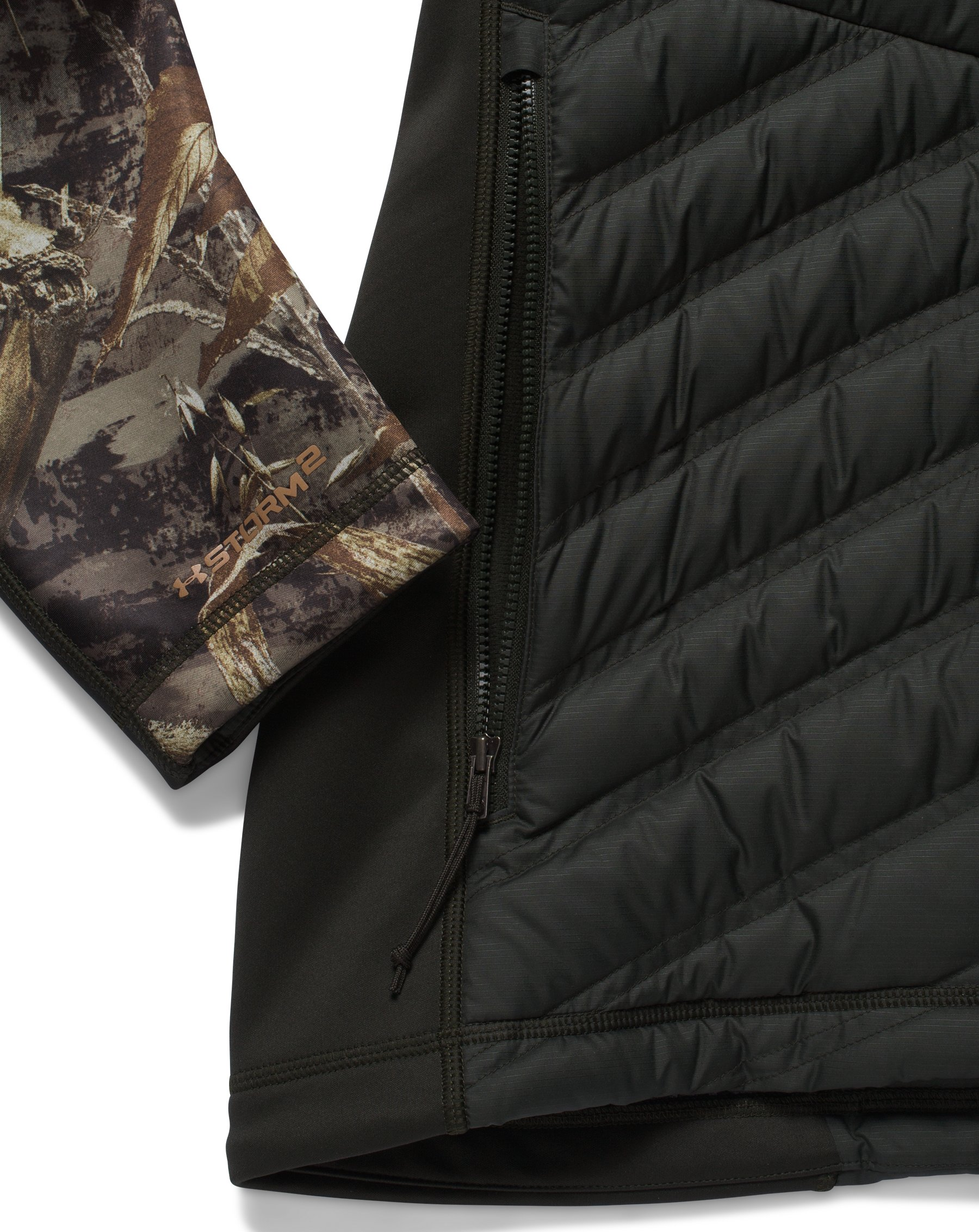 Men's UA Storm Cache Hybrid Jacket, REALTREE MAX 5, undefined