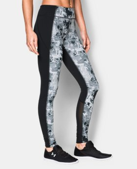 New to Outlet Women's UA Mirror Printed Leggings  2 Colors $44.99 to $56.99