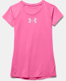 Girls' UA CoolSwitch Short Sleeve