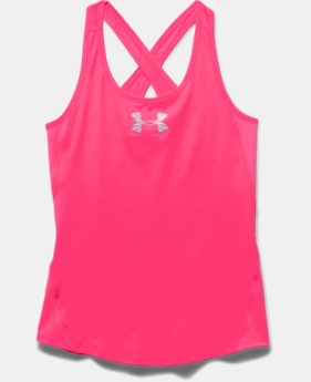 Girls' UA CoolSwitch Tank