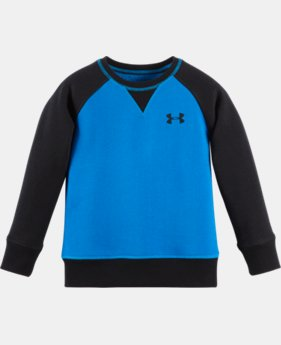 Boys' Infant UA Solid Rival Fleece Crew