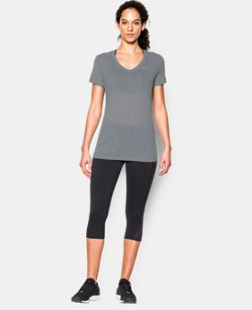 Women's UA Tech™ Slub V-Neck  2 Colors $20.99