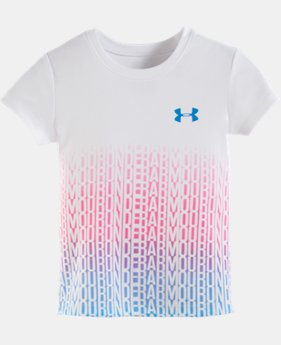 Girls' Infant UA Wordmark Gradient Top