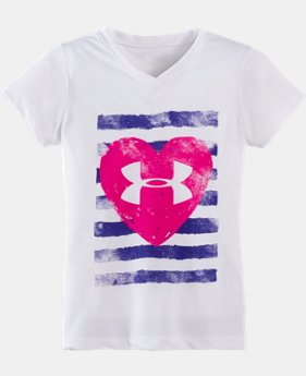 Girls' Infant UA All Heart Short Sleeve