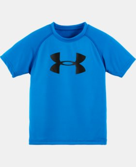 Boys' Pre-School UA Solid Logo T-Shirt