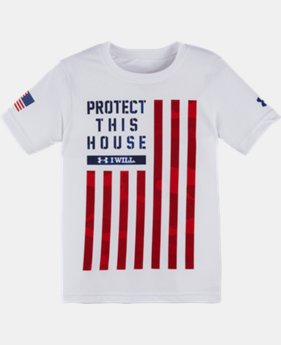 Boys' Pre-School UA PTH® Flag T-Shirt