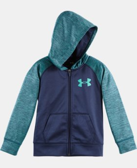 Boys' Pre-School UA Twisted Armour® Fleece Hoodie