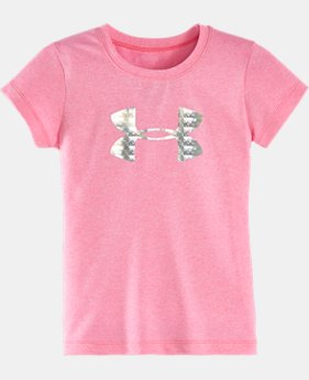 Girls' Pre-School UA Flawless Big Logo T-Shirt