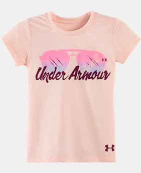Girls' Pre-School UA Shade Short Sleeve