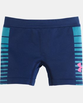 "Girls' Pre-School UA Seamless 3"" Bike Short"