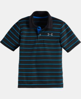 Boys' Pre-School UA Stripe Polo