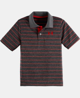 Boys' Toddler UA Stripe Polo