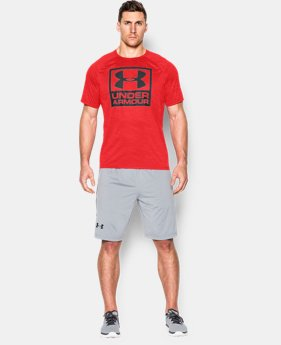 Men's UA Boxed Logo Printed T-Shirt