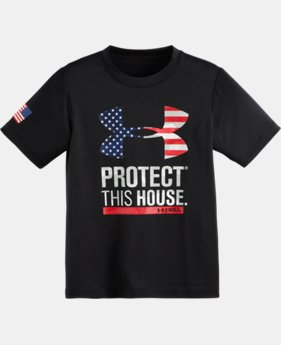 Boys' Pre-School UA USA Declaration T-Shirt
