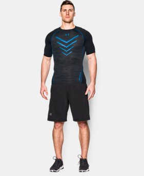 Men's UA HeatGear® Armour Twist Flight Compression Shirt  4 Colors $26.99