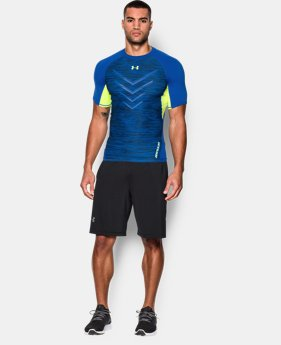 Men's UA HeatGear® Armour Twist Flight Compression Shirt