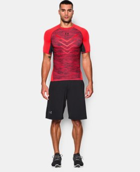 Men's UA HeatGear® Armour Twist Flight Compression Shirt  1 Color $20.24
