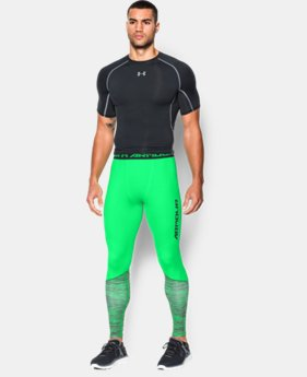 Men's UA HeatGear® Armour Twist Flight Compression Leggings