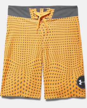 Boys' UA Barrel Boardshorts