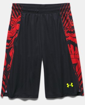 Boys' Under Armour® Alter Ego Superman Vs. Batman Shorts